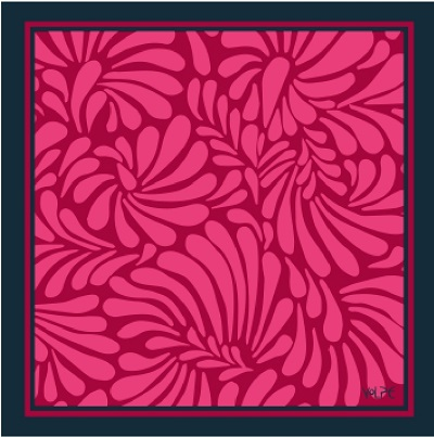 Pañuelo Rose 45*45 cm
